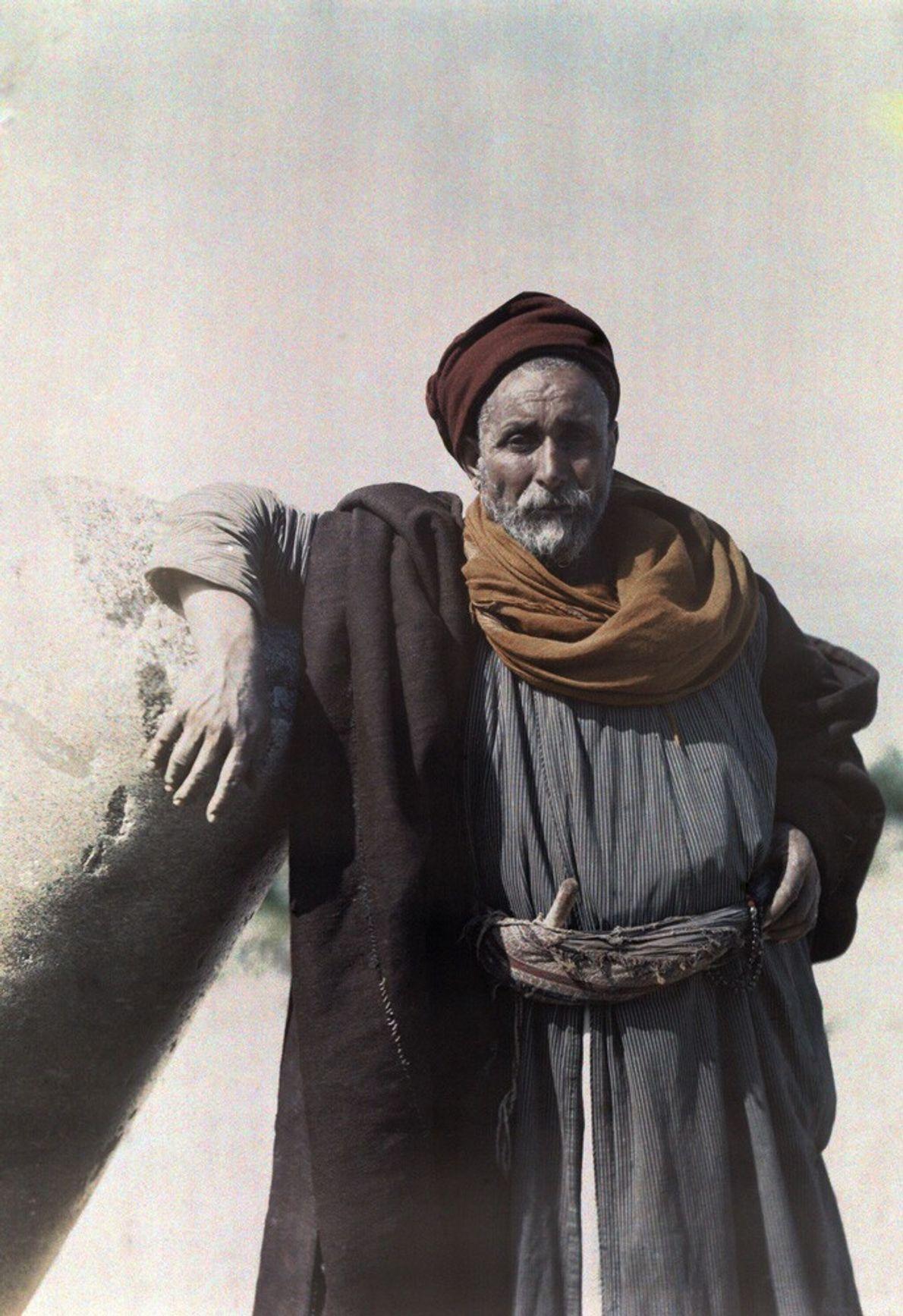 chefe de uma tribo nómada beduína