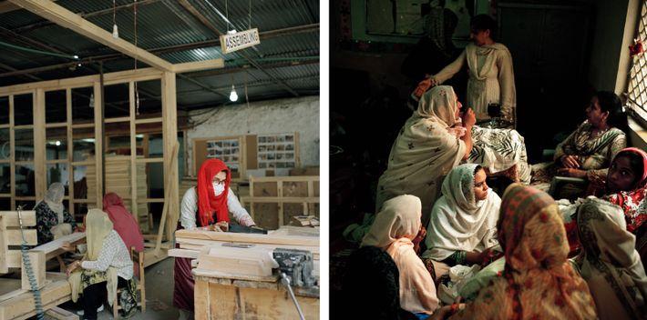 Trabalho de mulheres no Paquistão