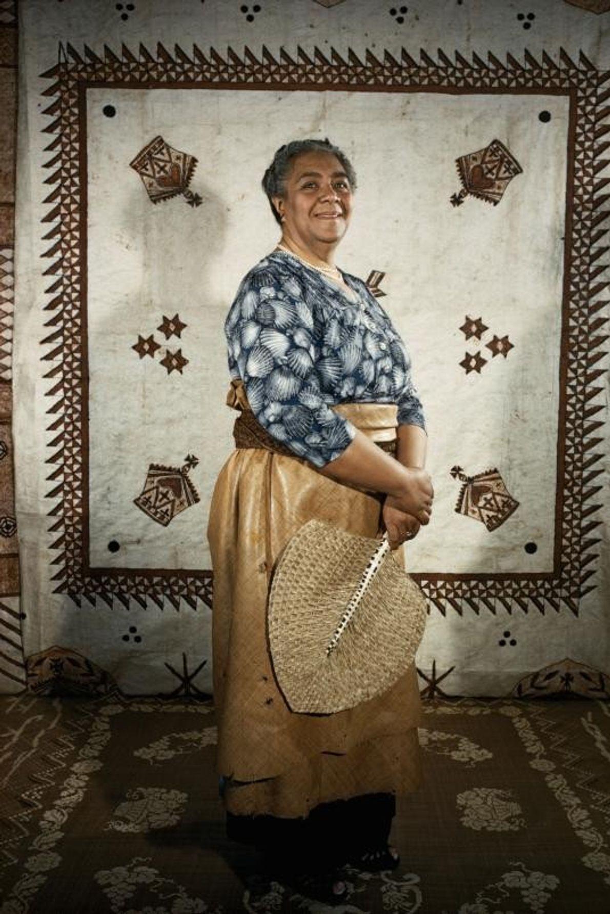 A rainha Salote Tupou III do Tonga governou esta ilha durante quase 48 anos, até à ...