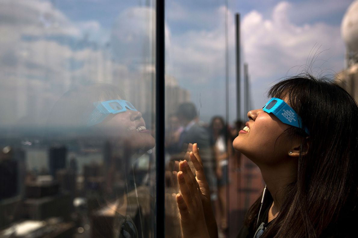 As Fotografias Mais Incríveis do Eclipse