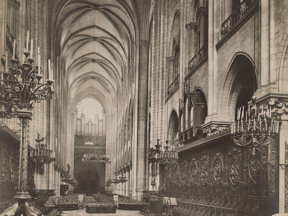 Veja Notre-Dame em Fotografias Vintage