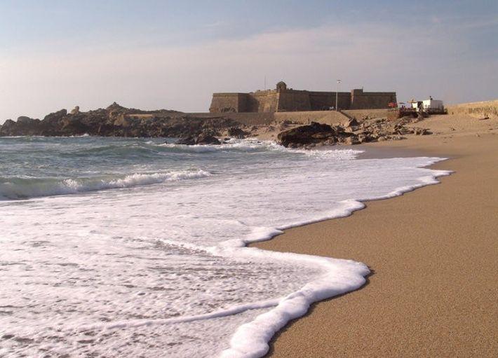 Praia de Vila do Conde.