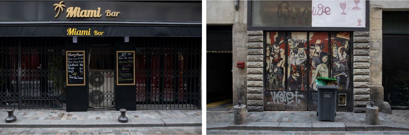 Dois dias depois do encerramento de bares, cafés e de outros negócios não essenciais da cidade, ...