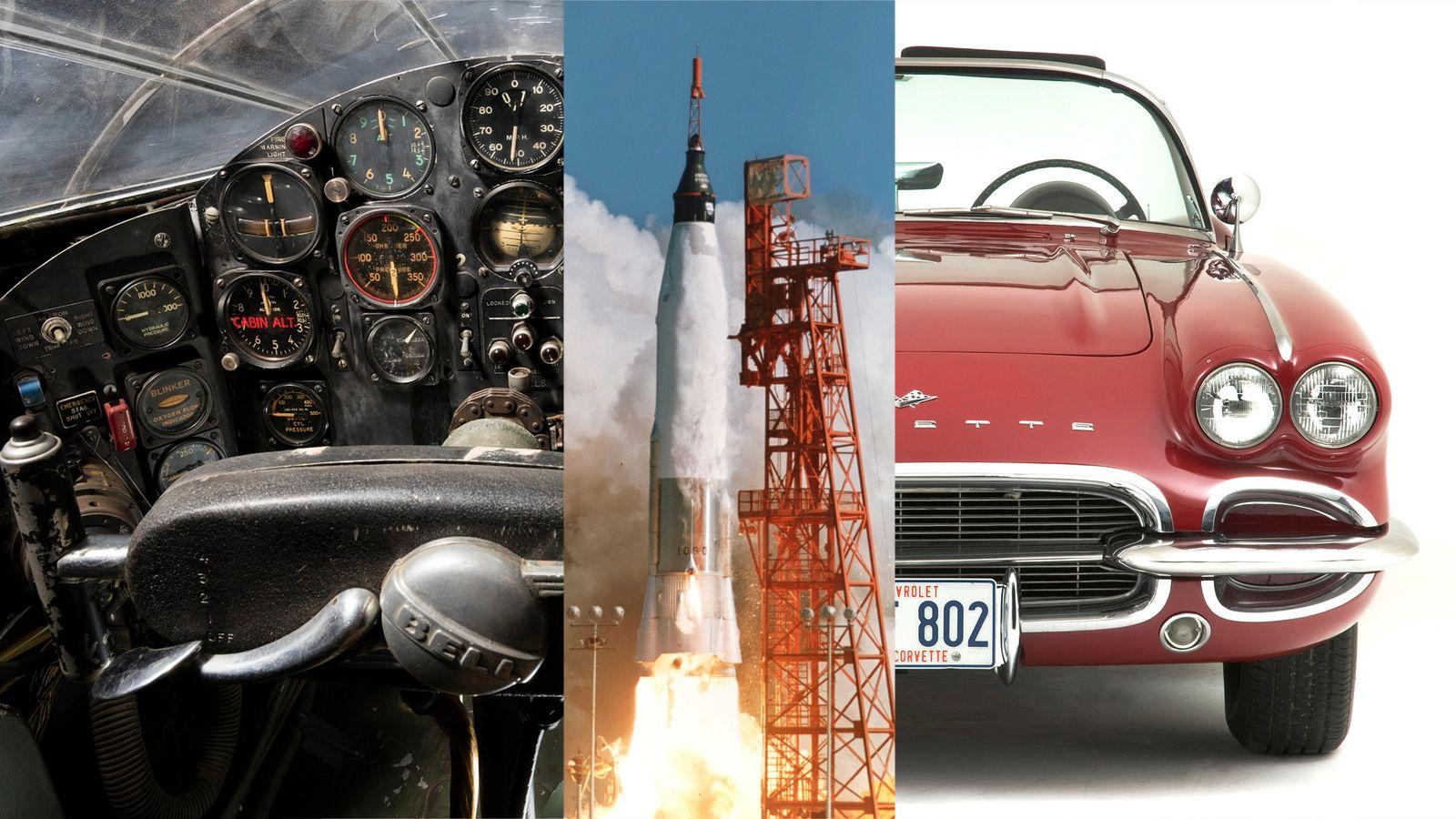 Materiais da era espacial para um estilo de vida da era espacial: desde aeronaves experimentais a ...