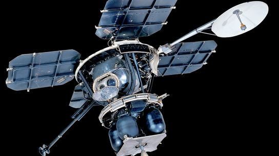 Imagens da zona de aterragem da Apollo