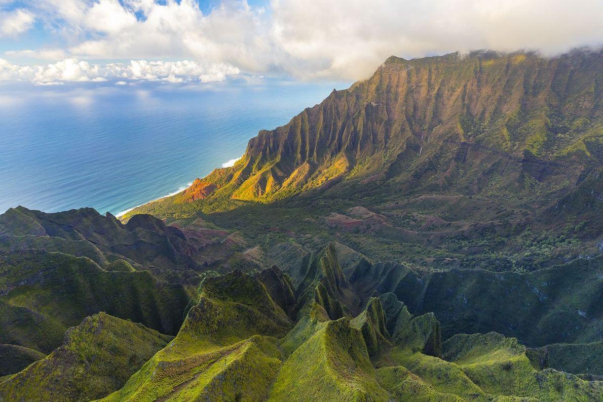 COSTA NA PALI, KAUAI, HAVAI