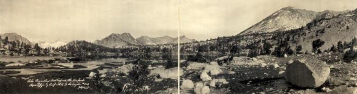 PARQUE NACIONAL DE KINGS CANYON, POR VOLTA DE 1911