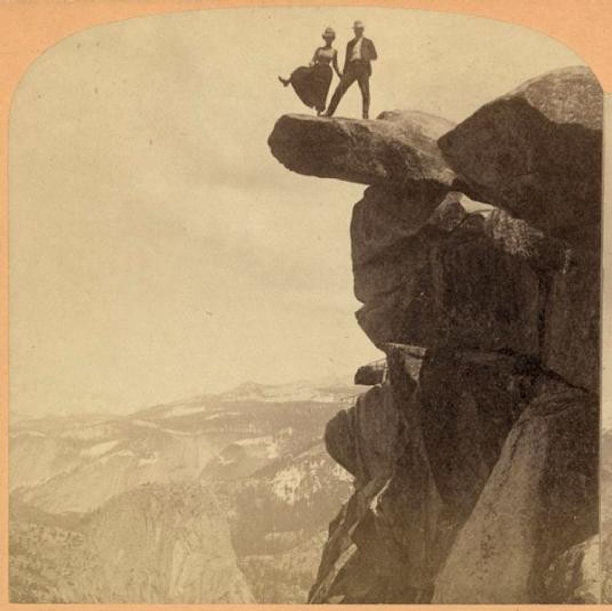 GLACIER POINT, YOSEMITE, POR VOLTA DE 1902