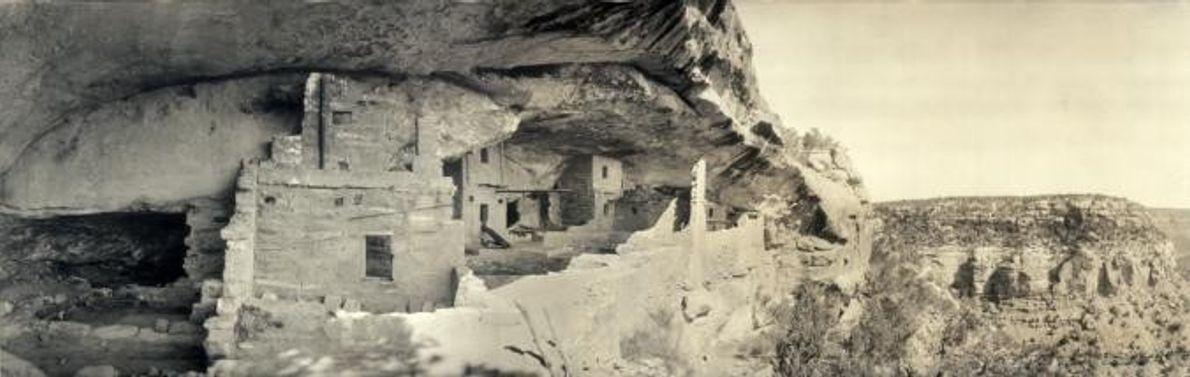 BALCONY HOUSE, MESA VERDE, POR VOLTA DE 1918