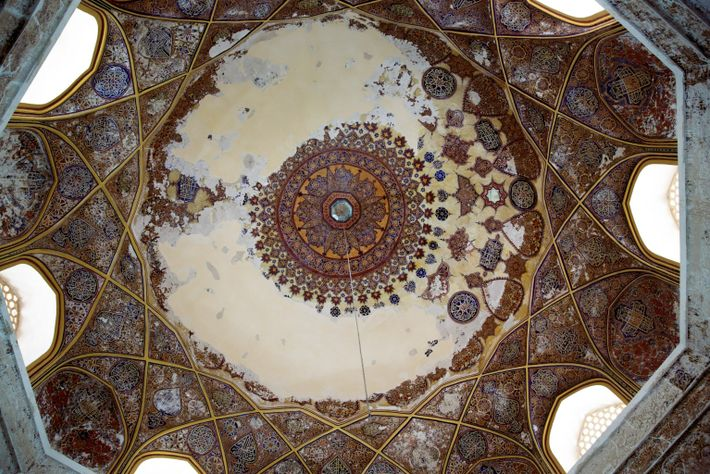 cúpula do túmulo de Shahzada Abdullah em Herat