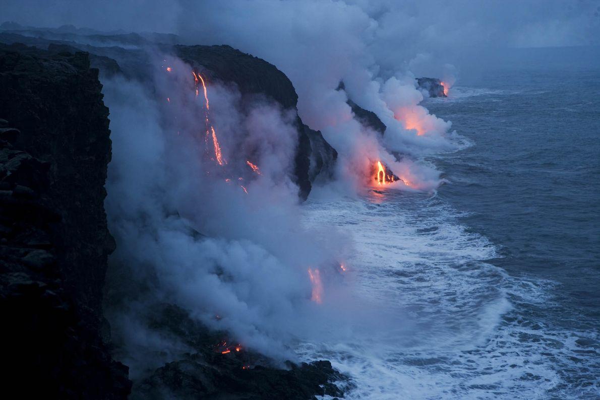 Parque Nacional de Vulcões do Havai