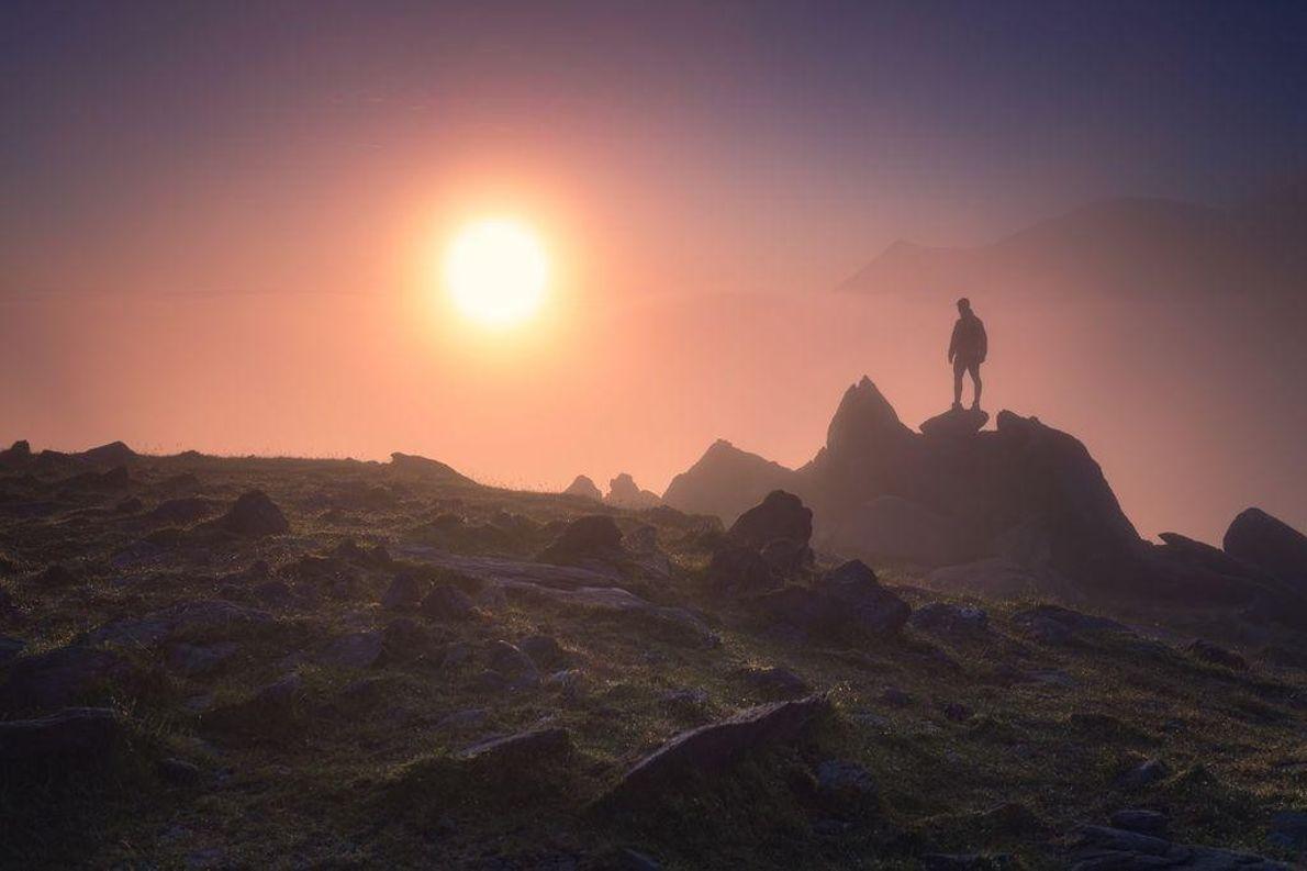 O Pico Mais Alto da Irlanda, Carrauntoohill
