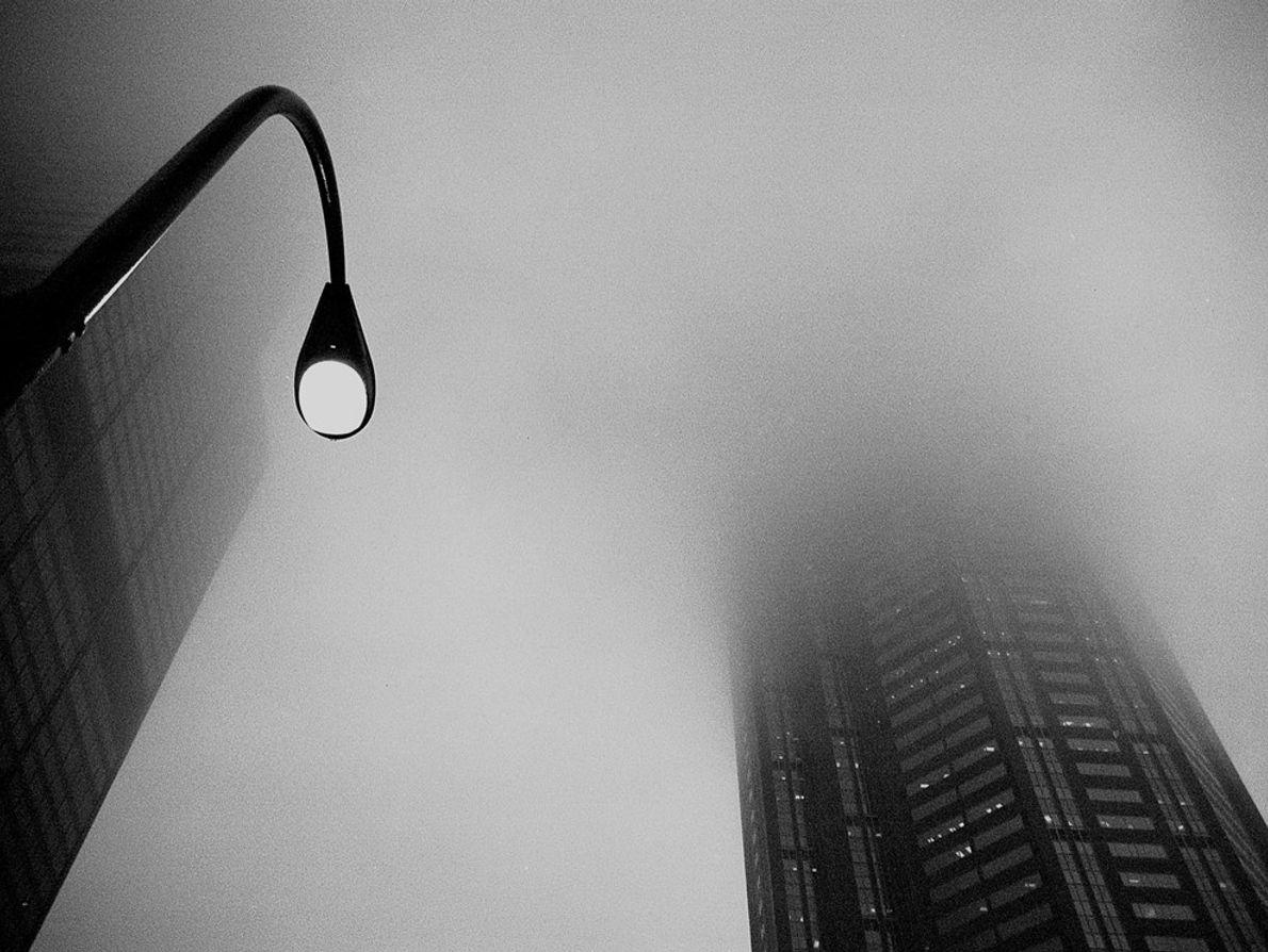 Nevoeiro na Cidade de Chicago