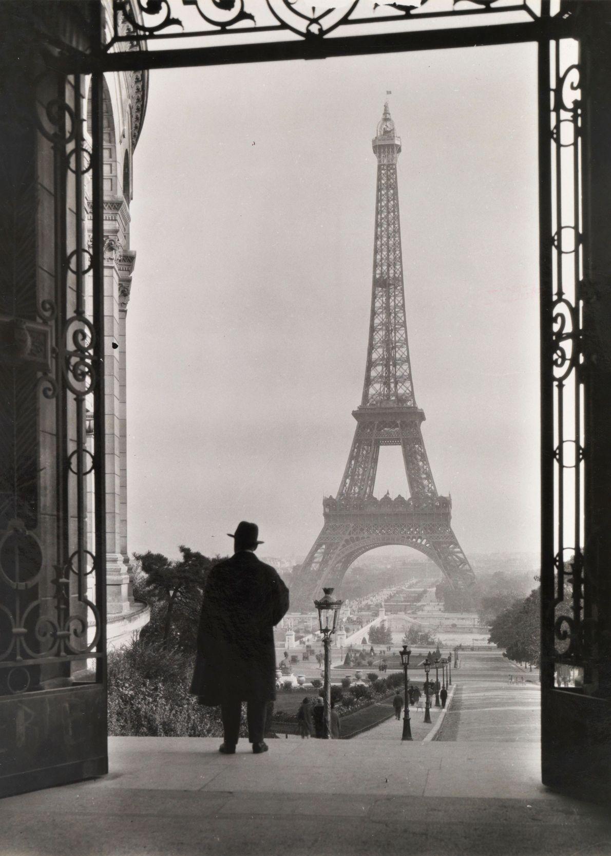Paris, França, 1929, Torre Eiffel