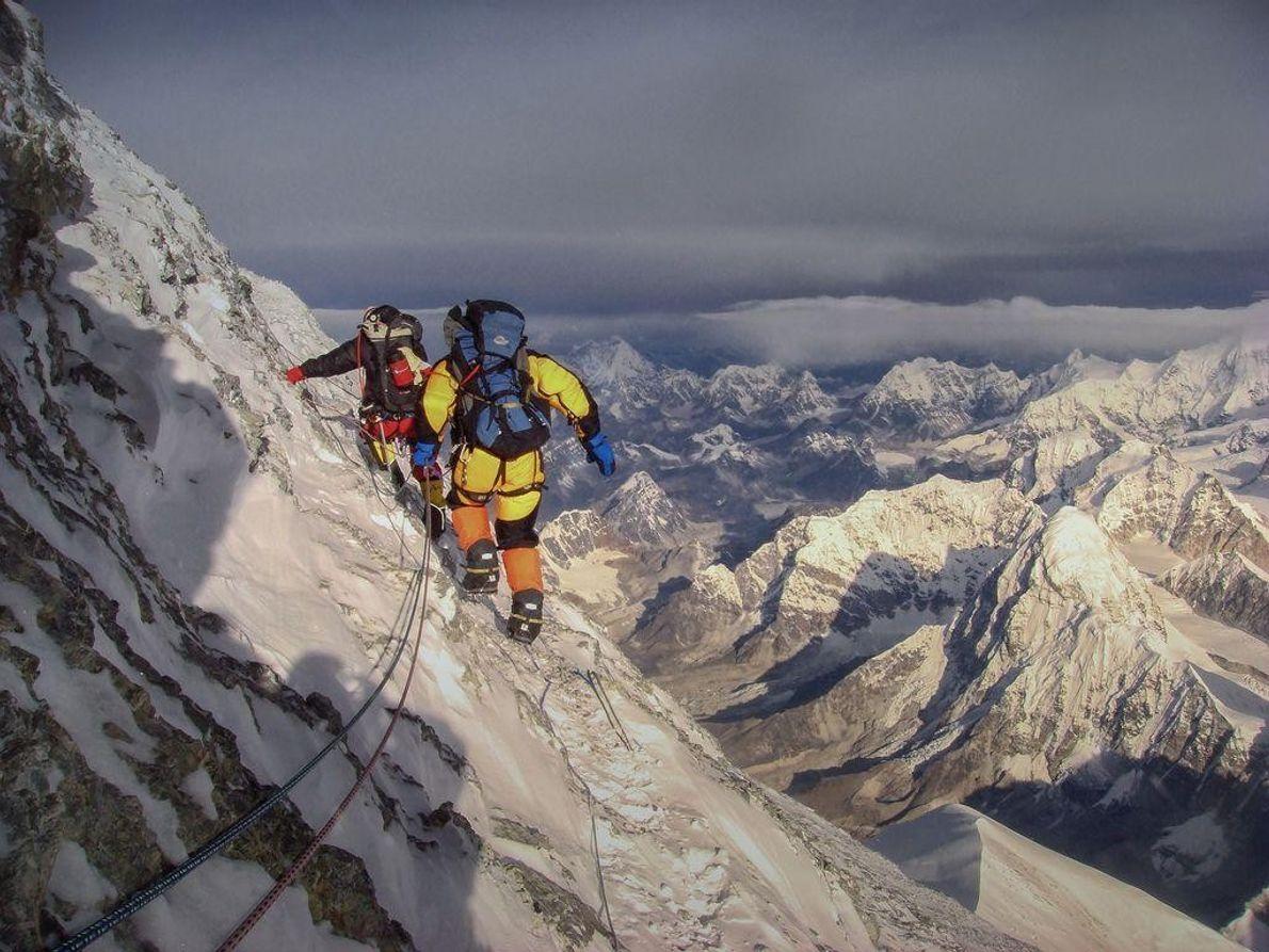 Cume Piramidal do Evereste
