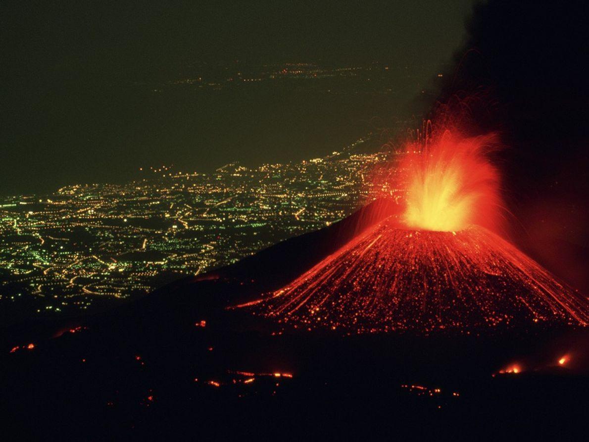 O Monte Etna.
