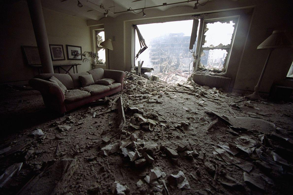 Apartamento arruínado