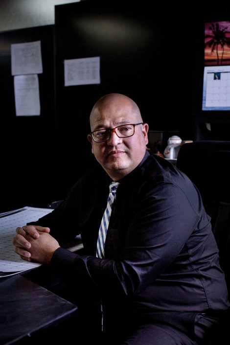 O antropólogo forense Fredy Peccerelli dirige a Fundação de Antropologia Forense da Guatemala (FAFG), um laboratório ...