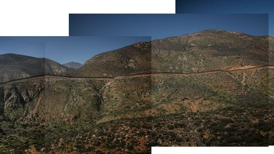 Fronteira Estados Unidos México