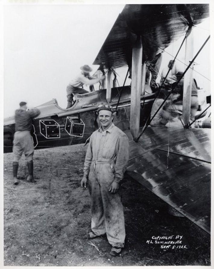 O pioneiro aviador James 'Jimmy' Doolittle
