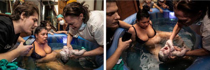 ESQUERDA: 18:48  Muhlhahn faz compressões torácicas em Suzette, depois de ter feito respiração boca a boca, ...