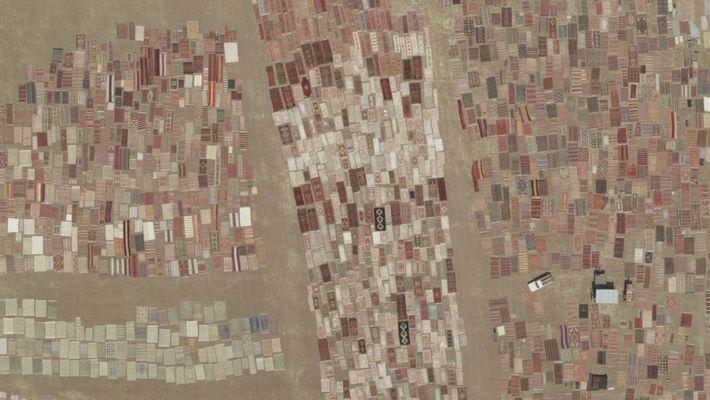 Turquia: Perto de Anatólia, quando os produtores de trigo terminam a sua colheita no final do ...