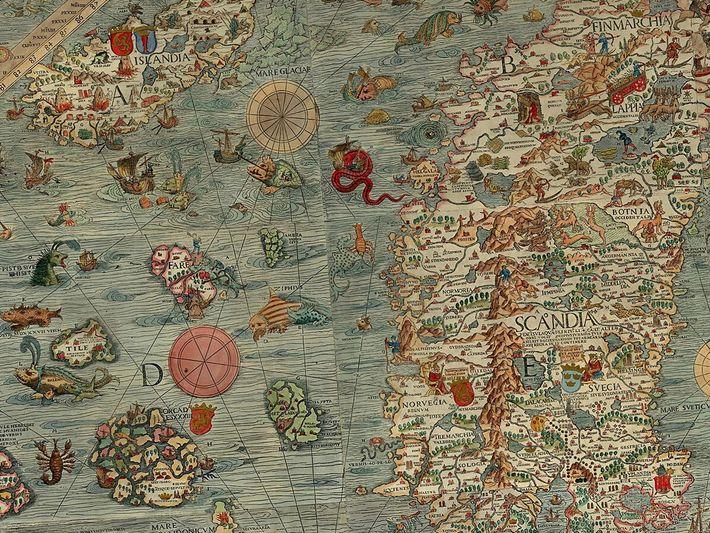 Carta marina et descriptio septentrionalium terrarum