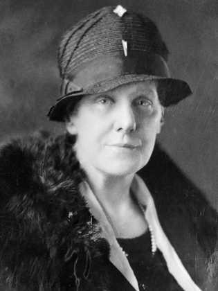Fotografia de Anna Jarvis, a fundadora da versão moderna do Dia da Mãe