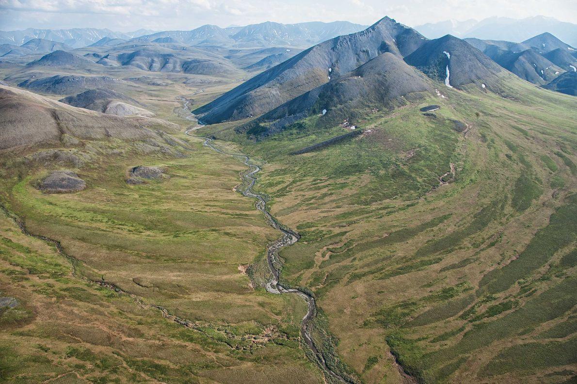 Refúgio Nacional de Vida Selvagem do Ártico.