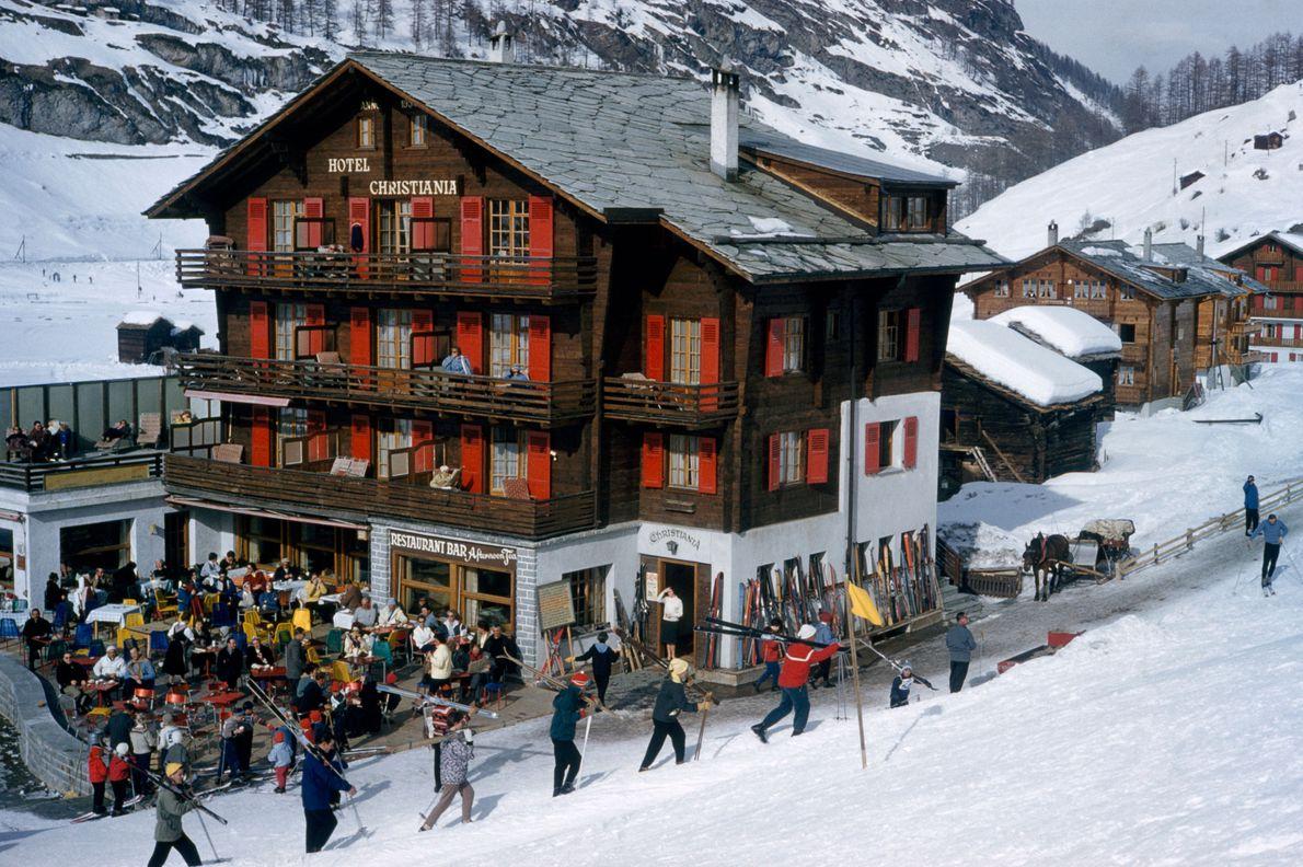 Zermatt, Suíça, 1961