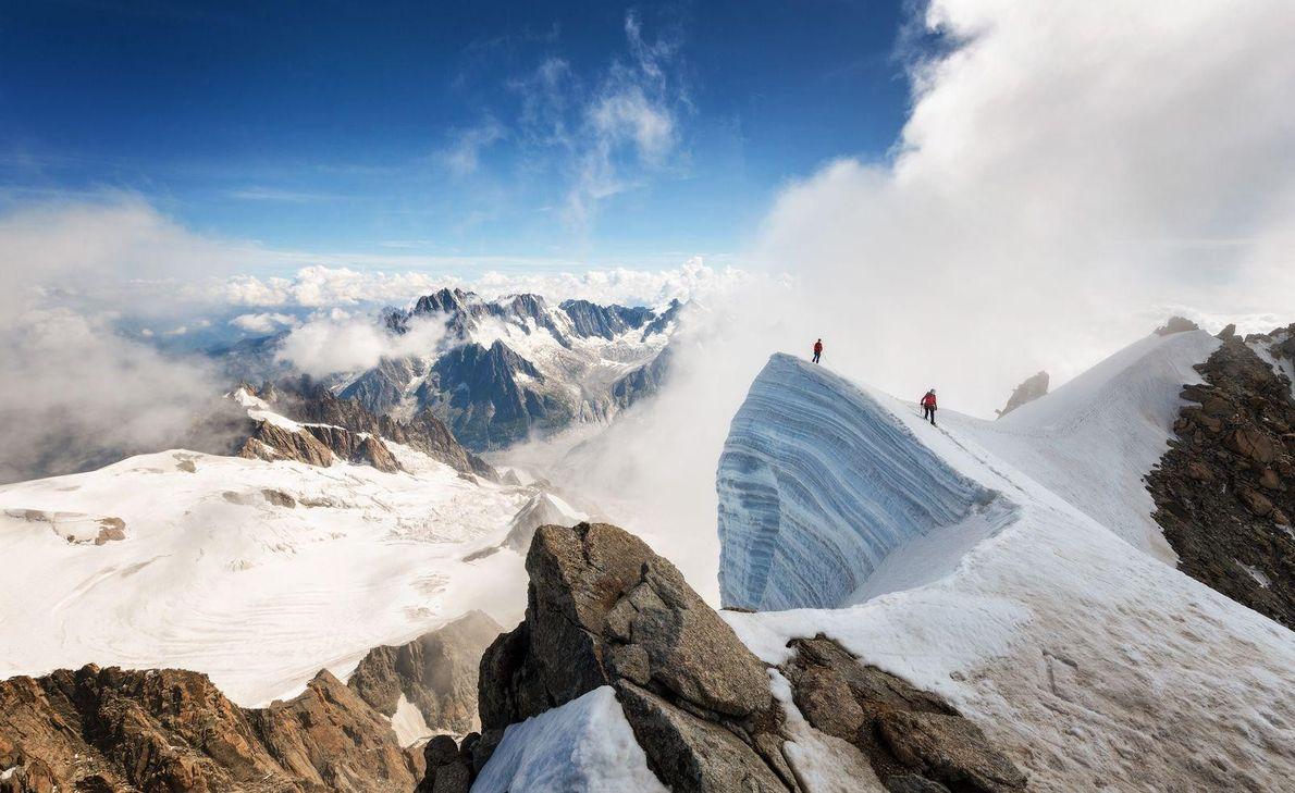 Cume de Mont Blanc du Tacul