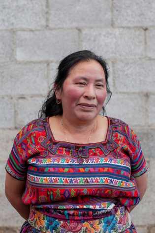 Domitila, filha de Francisco Curruchich, passou décadas sem saber o que aconteceu ao seu pai. No ...