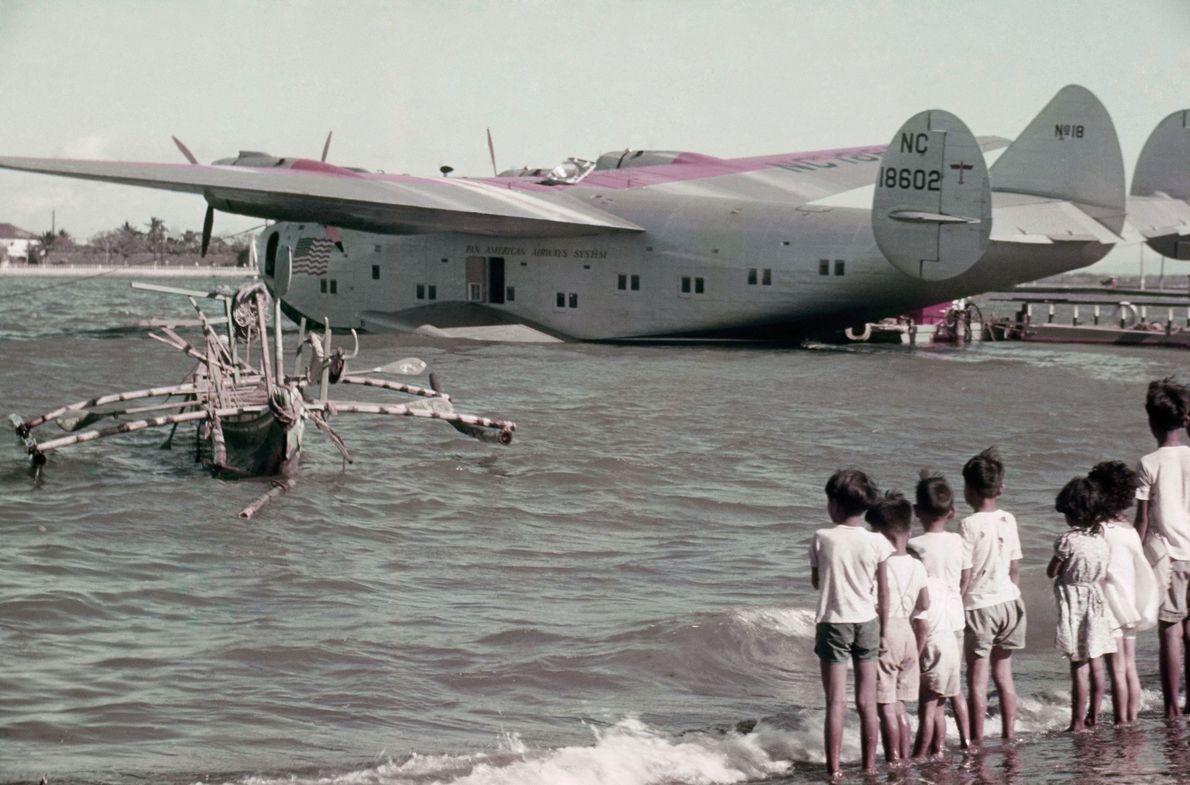 Avião da Pan Am nas Filipinas, 1940
