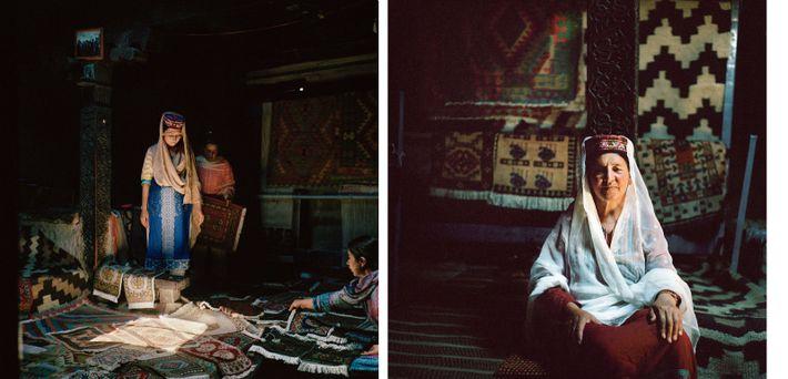 Mulheres da minoria wakhi do Paquistão