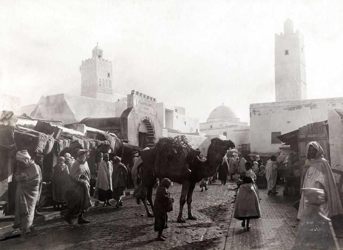 Kairouan, Tunísia, 1911