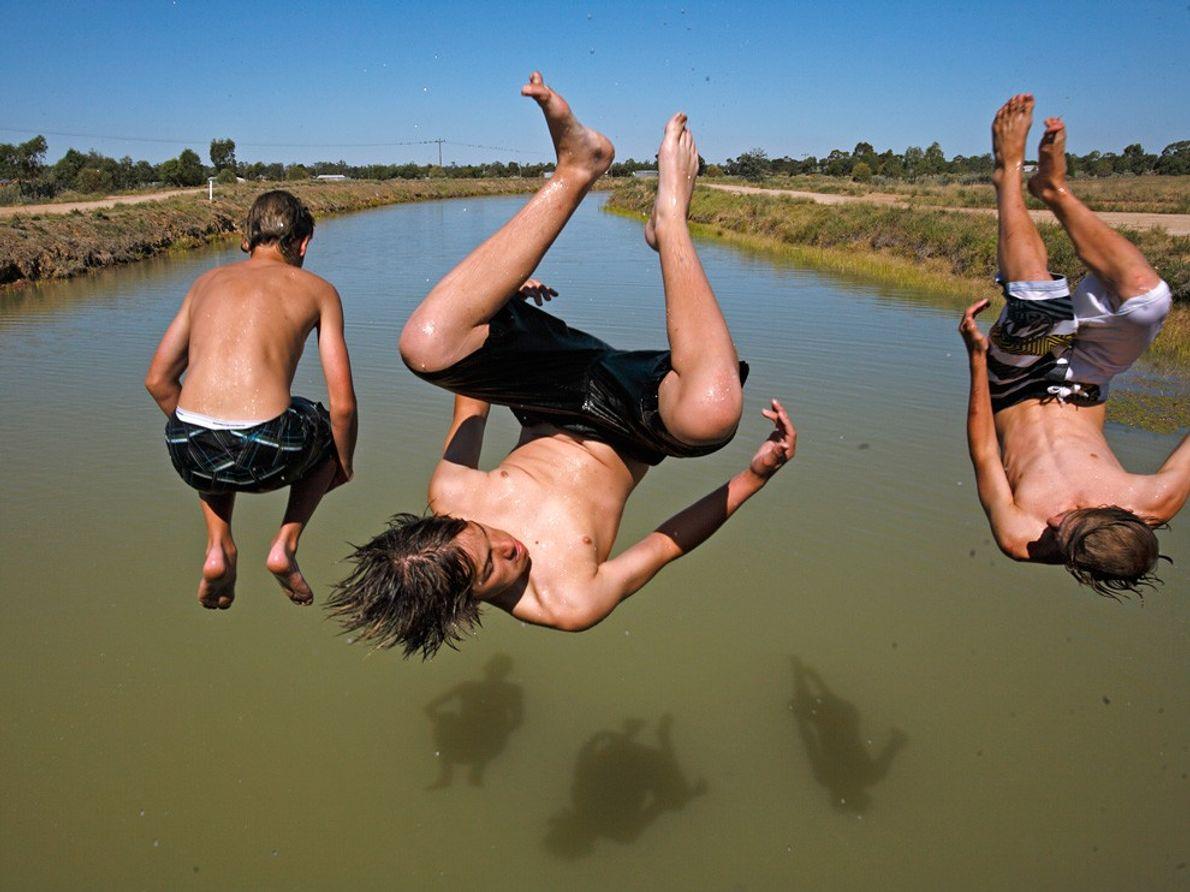 Três Rapazes no Ar