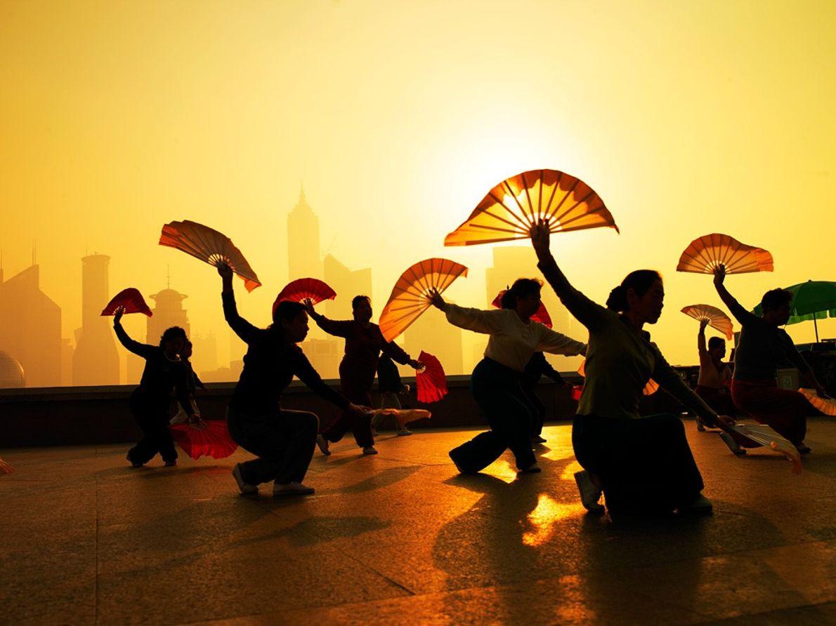 Exercício Matinal, Xangai