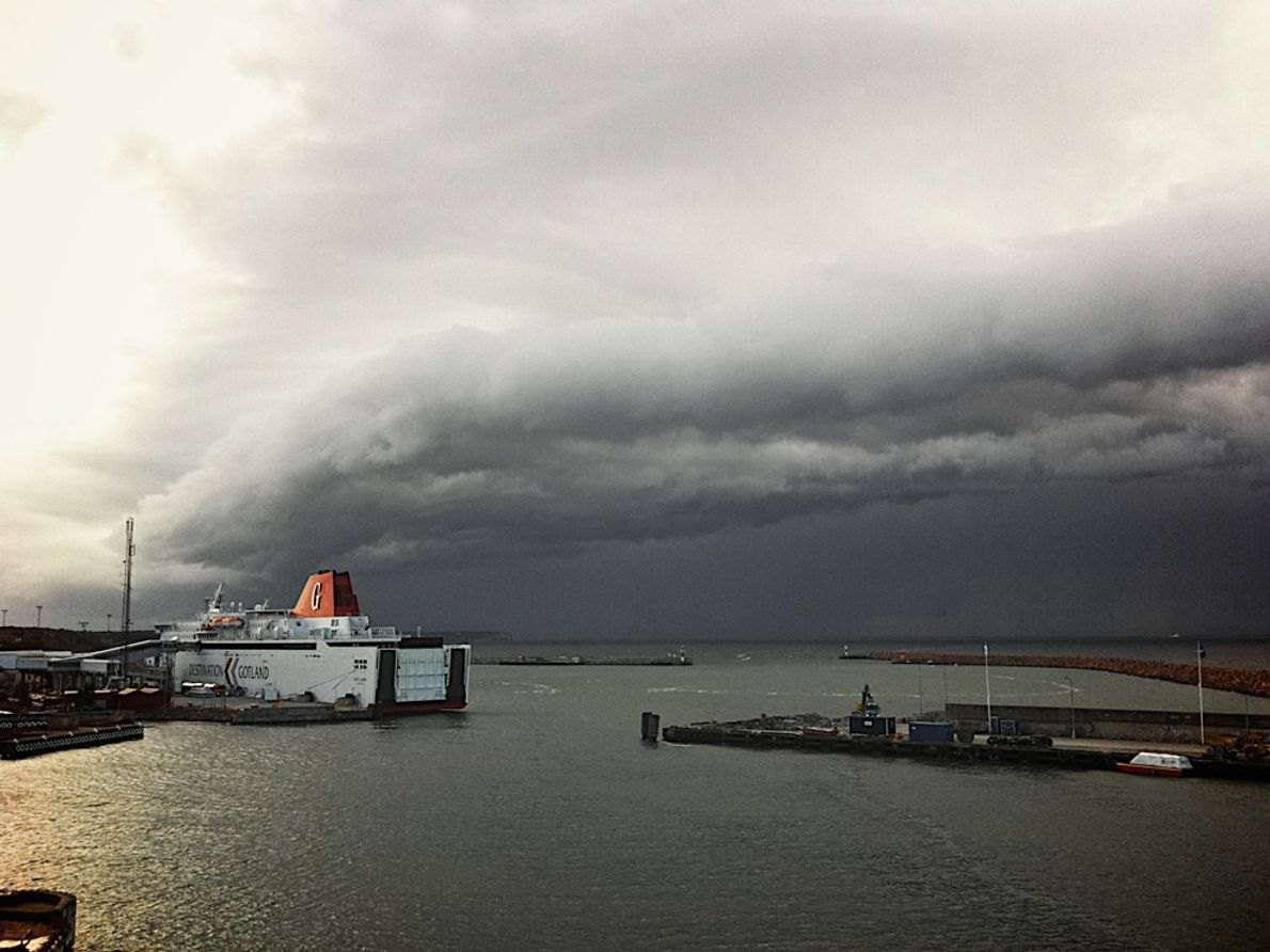 Tempestade, Suécia