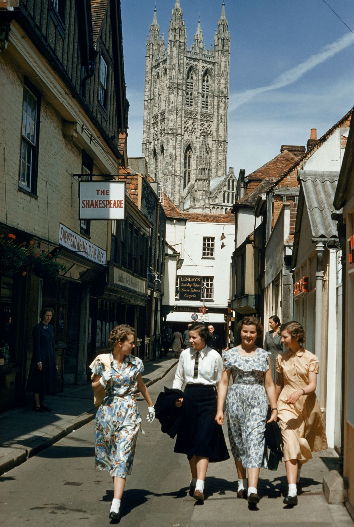 Canterbury, Grã-Bretanha, 1955