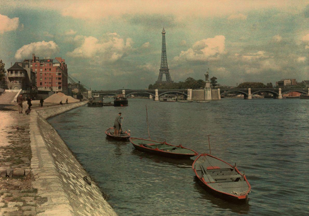 Rio Sena, Paris, França, 1936