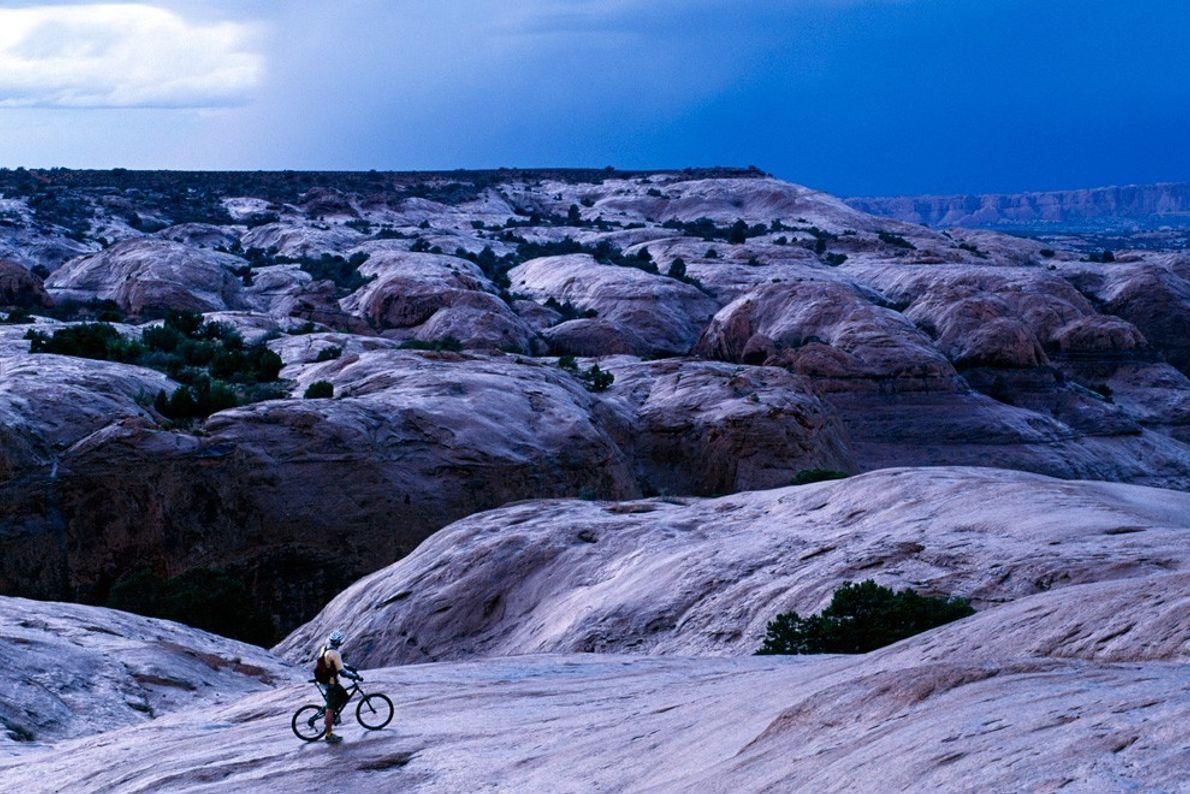 Trilho Slickrock, Moab Tempo Adverso