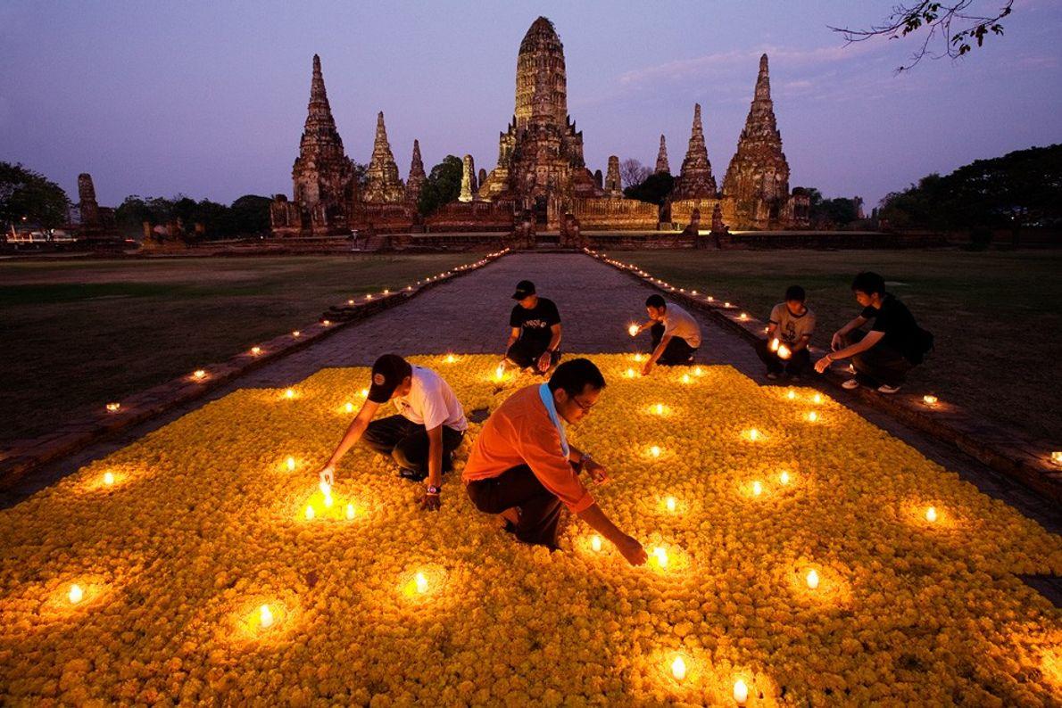 Homenagem Florar, Tailândia