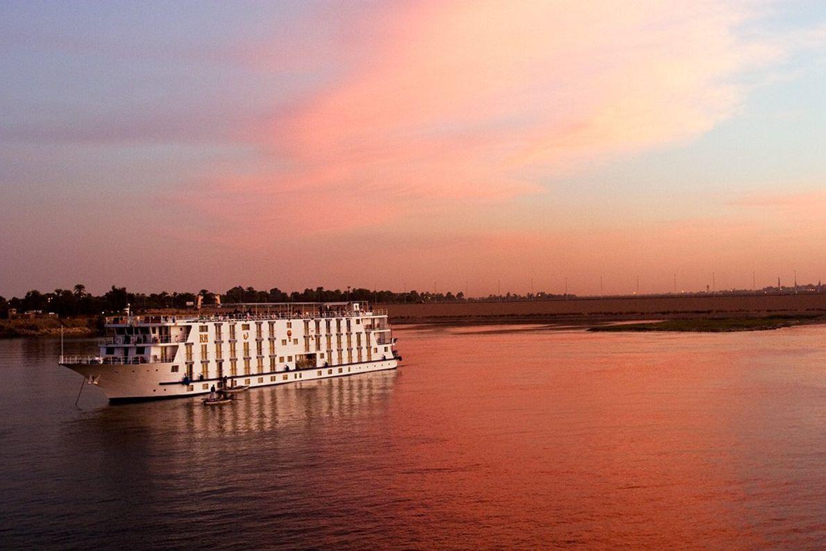 Pôr-do-Sol, Rio Nilo Pôr-do-Sol