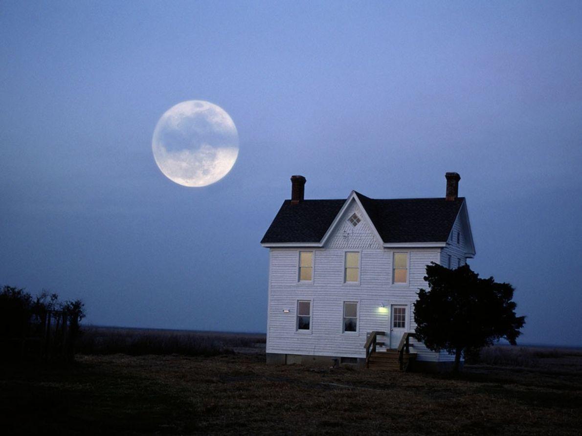 Nascer da Lua, Chesapeake Bay