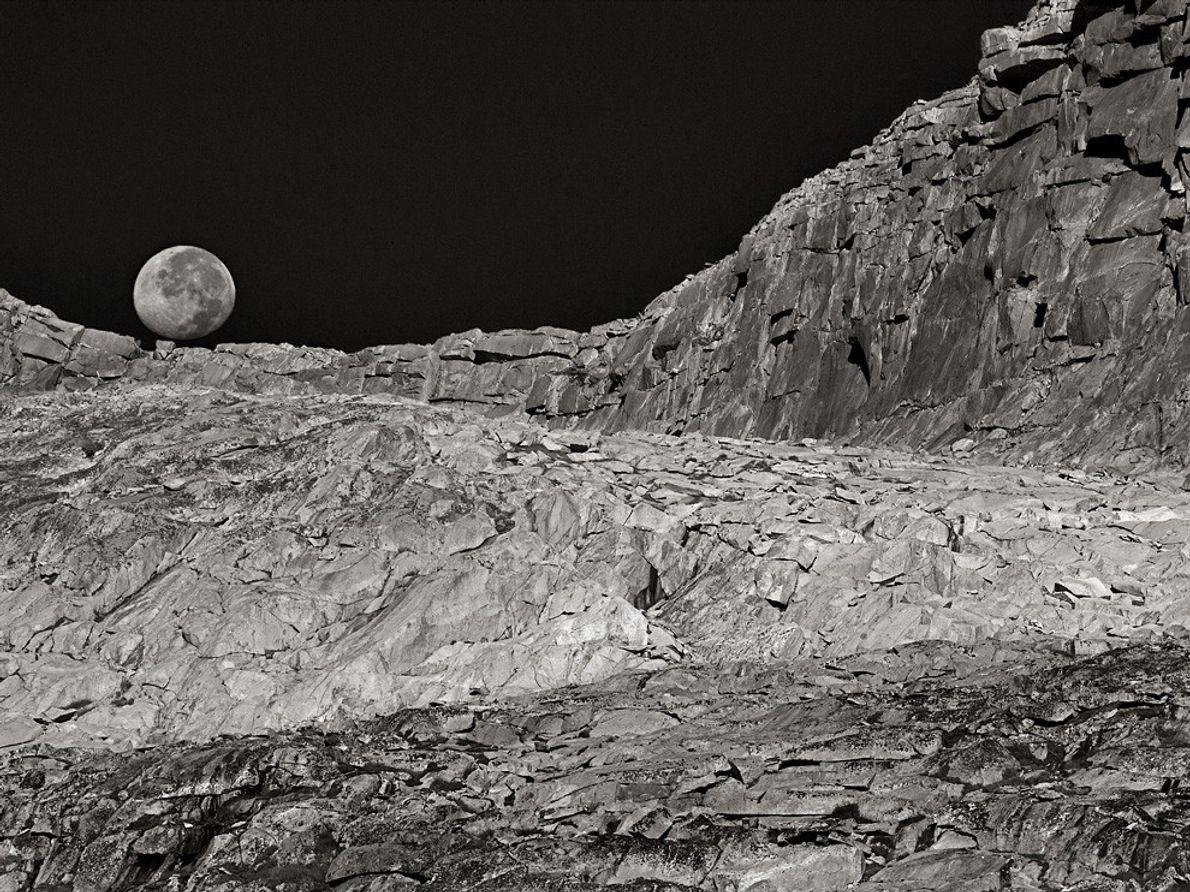 Lua e Paisagem, Califórnia