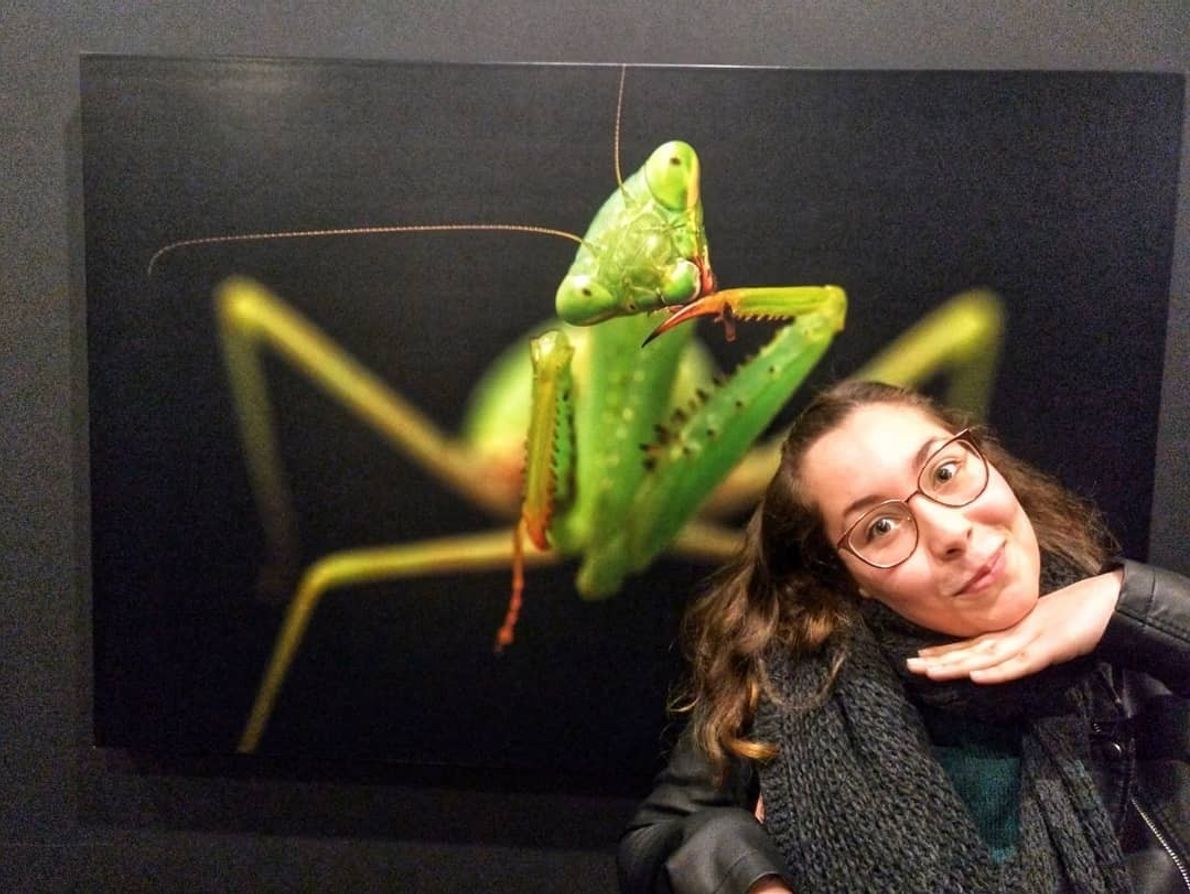 Imagem da participante @cristinafilipefreitas na exposição Photo Ark