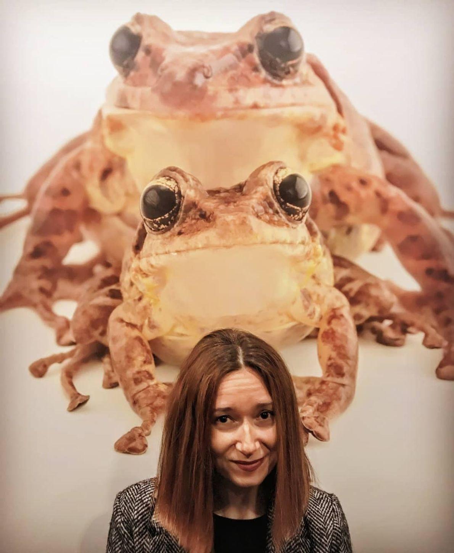 Imagem da participante @ccarapeto na exposição Photo Ark