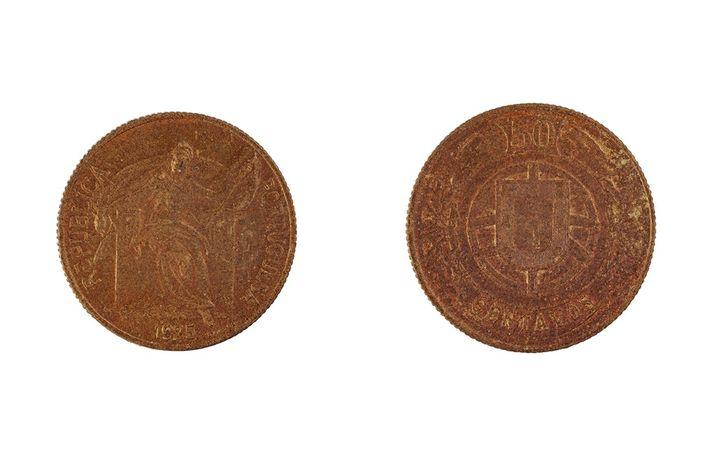 Moeda de 50 centavos de 1925