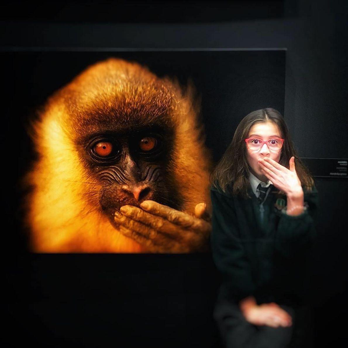 Imagem da participante @madalena_art_ na exposição Photo Ark
