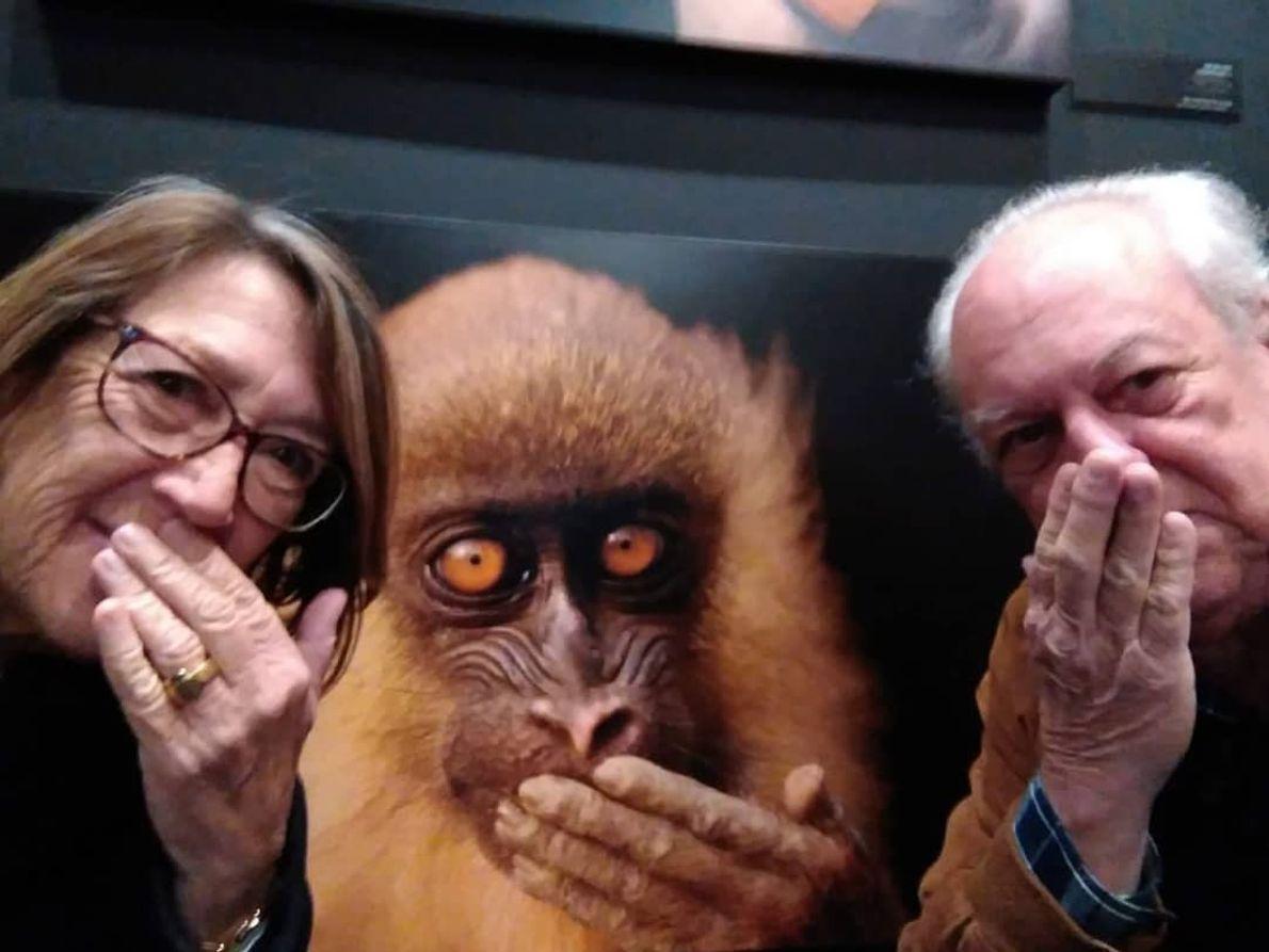 Imagem da participante @mariamanueladias na exposição Photo Ark